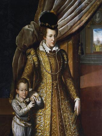 Portrait of Joanna of Austria, Grand Duchess of Tuscany