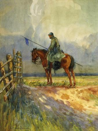 Sentinel on Horseback