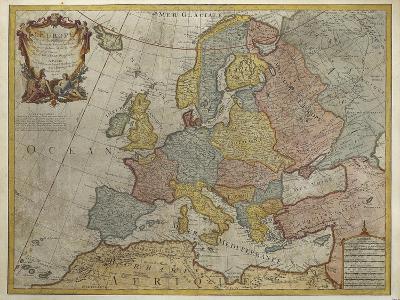 Europe, Paris, 1700