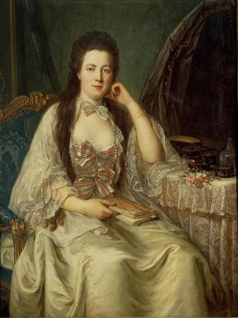 Lady at Her Toilette, Circa 1760