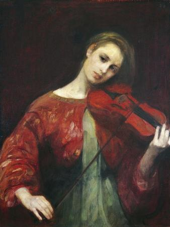The Violinist, 1908