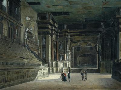 Hall of Pilotta in Parma