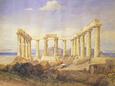 Greece, Aegina, Afaia Temple, 1767-1832
