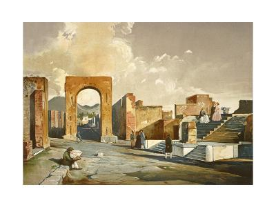 The Arch of Fortune, from Pompei
