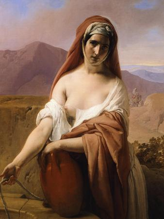 Rebecca at the Well, 1848
