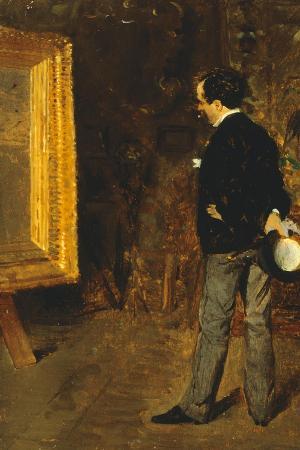 Portrait of Journalist Martino Cafiero, 1872