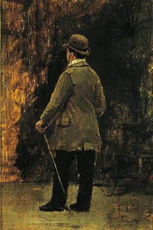 Portrait of the Painter Edoardo Dalbono
