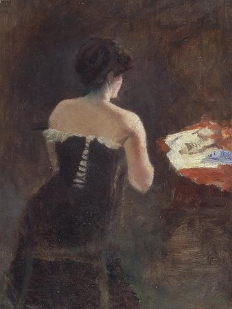 Back of a Lady, 1882