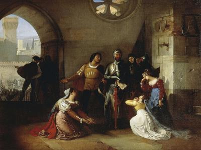Peter Rossi, Imprisoned by the Scaligeri, 1818-1820