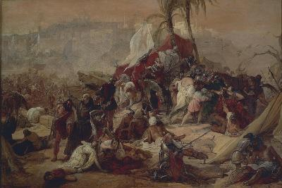 The Thirst of the First Crusaders Suffered in Jerusalem, 1837