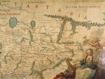 Map of Tartary, 1540 and Francesco Grisellini, 1761