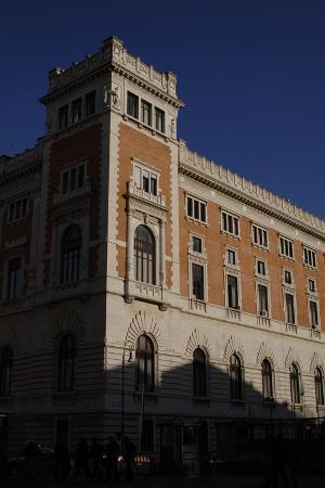 Italian Chamber of Deputies, Exterior, Rome