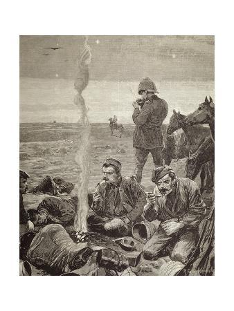 British Troops Encampment, 1884, Colonial Wars, Sudan