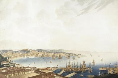 Italy, Trieste, City and Port, 1850