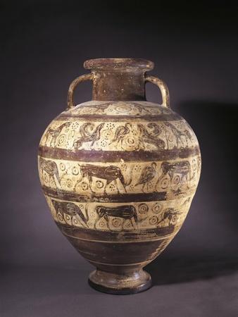 Italy, Lazio, Tarquinia, Etruscan-Corinthian Amphora