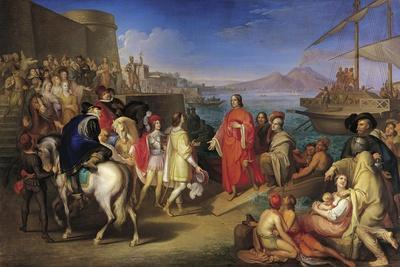 Landing of Lorenzo the Magnificent in Naples