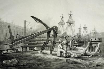 Anchors at Naval Shipyard