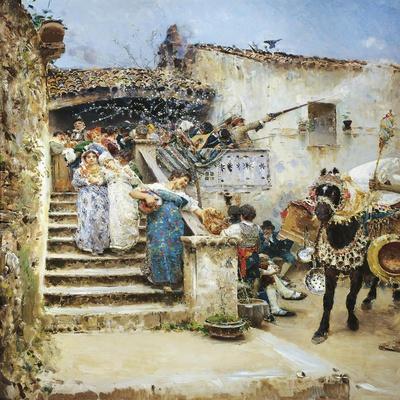 Marriage in Abruzzo, 1876