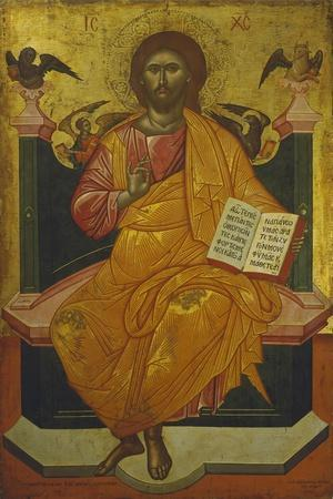Christ on the Throne, Icon