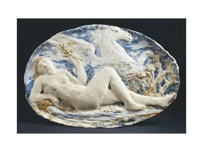 Plate with Venus and Pegasus, Front, 1899