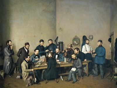 Political Meeting in Trier, 1848