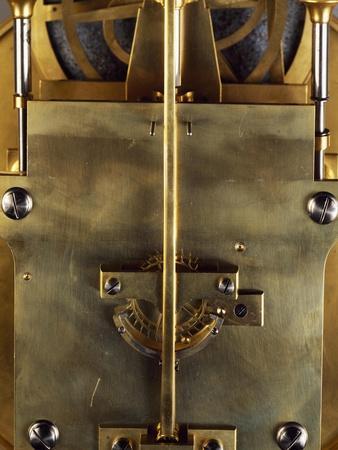 Anchor Escapement, Pendulum Detail, 1867, Paris, France