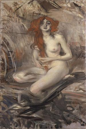 Italy, Young Nude