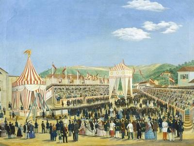 Ceremony for the Laying of the Cornerstone of the Railway Station in Trieste