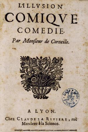 Title Page of Illusion Comique, 1659