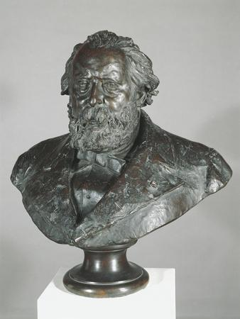 Bust of Italian Politician and Patriot Cesare Correnti, 1852-1929