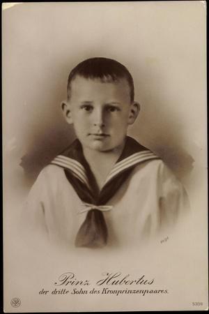 Prinz Hubertus,Dritter Sohn D Kronprinzenpaares, Npg