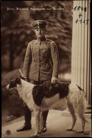 Prinz Friedrich Sigismund Von Preußen, Windhund, Npg 5285
