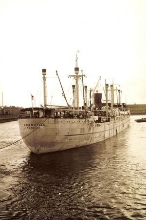 Foto Fred Olsen Line, Steamer Granville, Panama, 1930