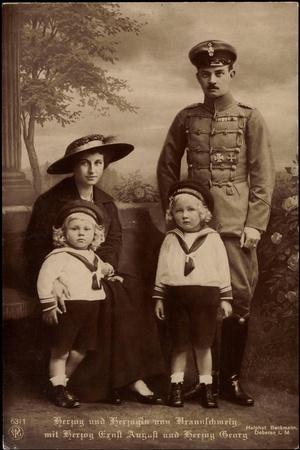 Herzog Und Herzogin Von Braunschweig, Npg 6311