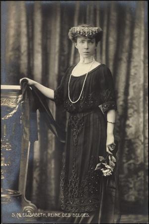 S.M. Elisabeth, Reine Des Belges, Königin Belgien