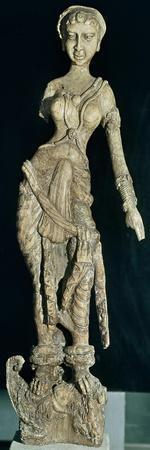 Ivory Statuette from Bagram Treasury, Afghanistan, Afghan Civilization