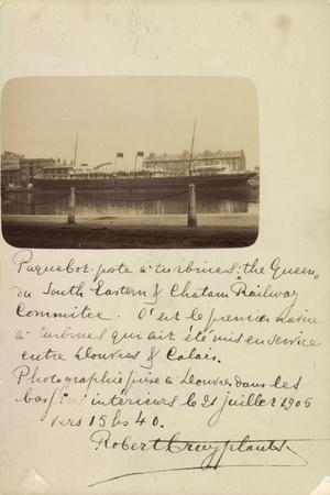 National Line, Steamship Co., Steamer, the Queen