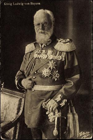 König Ludwig Von Bayern, Uniform, Standportrait