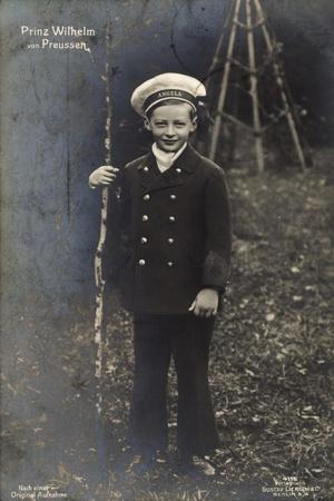 Prinz Wilhelm Von Preußen Als Kind, Uniform