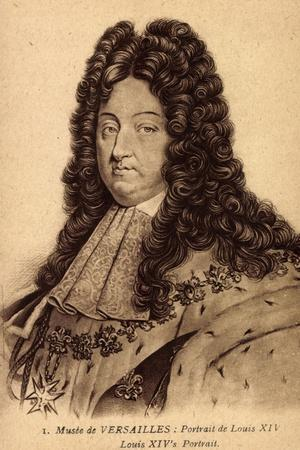 Louis XIV, Musée De Versailles, Portrait