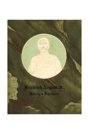 Präge Friedrich August III, König Von Sachsen