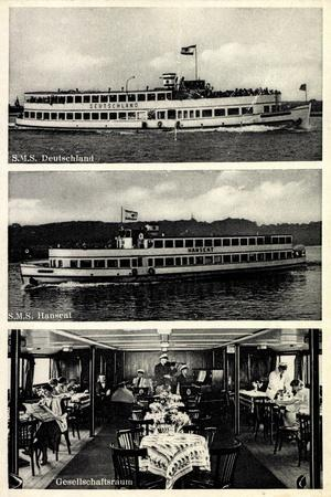 Reederei Gebr. Schreiber,Dampfer,Deutschland, Hanseat