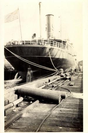 Foto S.S. Algonquin, Clyde Steamship Co., Dampfer