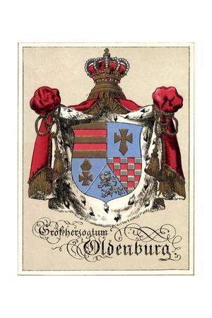 Wappen Großherzogtum Oldenburg, Krone