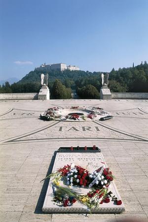 Italy, Lazio Region, Frosinone Province, Polish War Cemetery at Monte Cassino