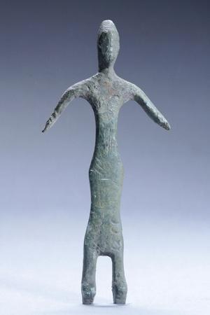 Praying Female, Bronze Figurinette from the Region of Monteacuto Ragazza