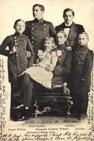 Preußischer Adel, Kinder, Eitel Fr., Viktoria Luise
