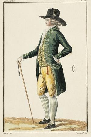 France, Paris, Fashionable Clothes by Desrais and Duhamel, 1786