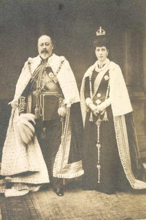 King Edward VII and Queen Alexandra, England