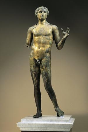 Gilt Bronze Statuette of Apollo, from Lillebonne